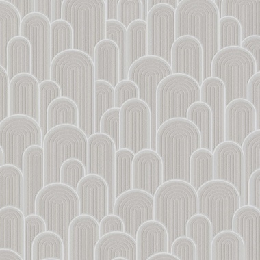 Papel Pintado Semicírculos con textura - WELLIN 02 | MURAKE - 530211