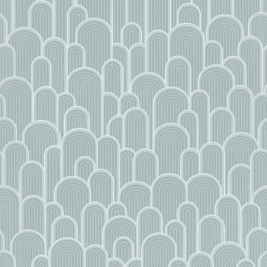 Papel Pintado Semicírculos con textura - WELLIN 05 | MURAKE - 530214
