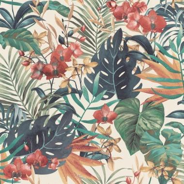 Papel Pintado Hojas coloridas - SWABI    MURAKE - 765436