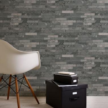 Papel Pintado Muro de piedra - BURTI 04   MURAKE - 285534