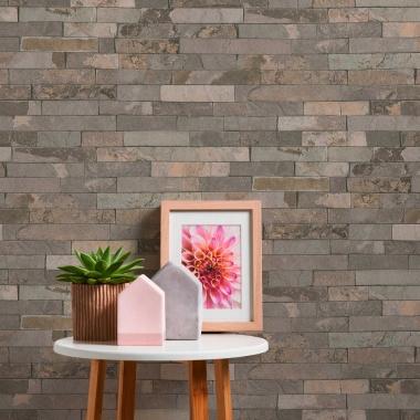 Papel Pintado Muro de piedra - BURTI 02   MURAKE - 285532