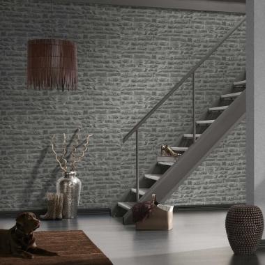 Papel Pintado Imitación Muro Piedra - ROLD 02   MURAKE - 449132
