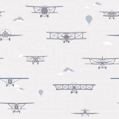 Papel Pintado Aviones Vintage - PROPEL 03 | MURAKE - 31017