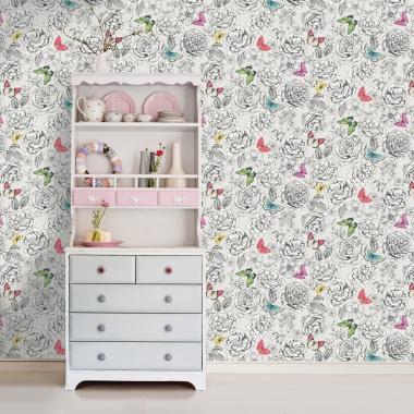 Papel Pintado Mariposas - KELEBE  | MURAKE - 89130