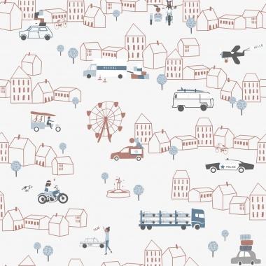 Papel Pintado Tráfico ciudad - ZIRGA 03 | MURAKE - 17110