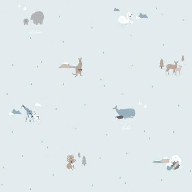Papel Pintado Animales - KUGU 01 | MURAKE - 17114