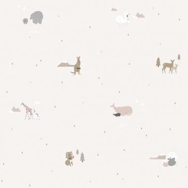 Papel Pintado Animales - KUGU 03 | MURAKE - 17116
