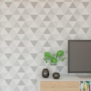 Papel Pintado Triángulos - ANGLES 02 | MURAKE - 14532