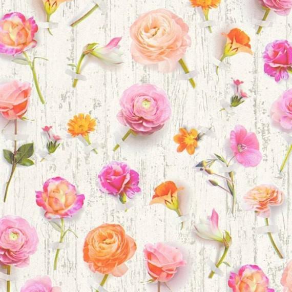 Papel Pintado URBAN FLOWERS 231 - 1