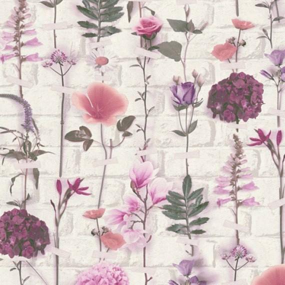 Papel Pintado URBAN FLOWERS 251 - 1