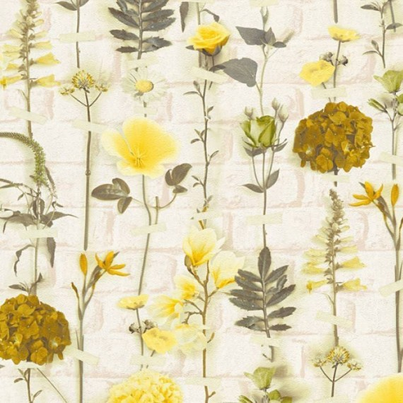 Papel Pintado URBAN FLOWERS 252 - 1